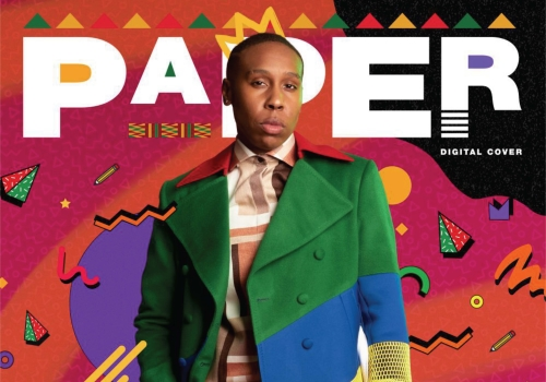 PAPER Magazine Black History Month Cover