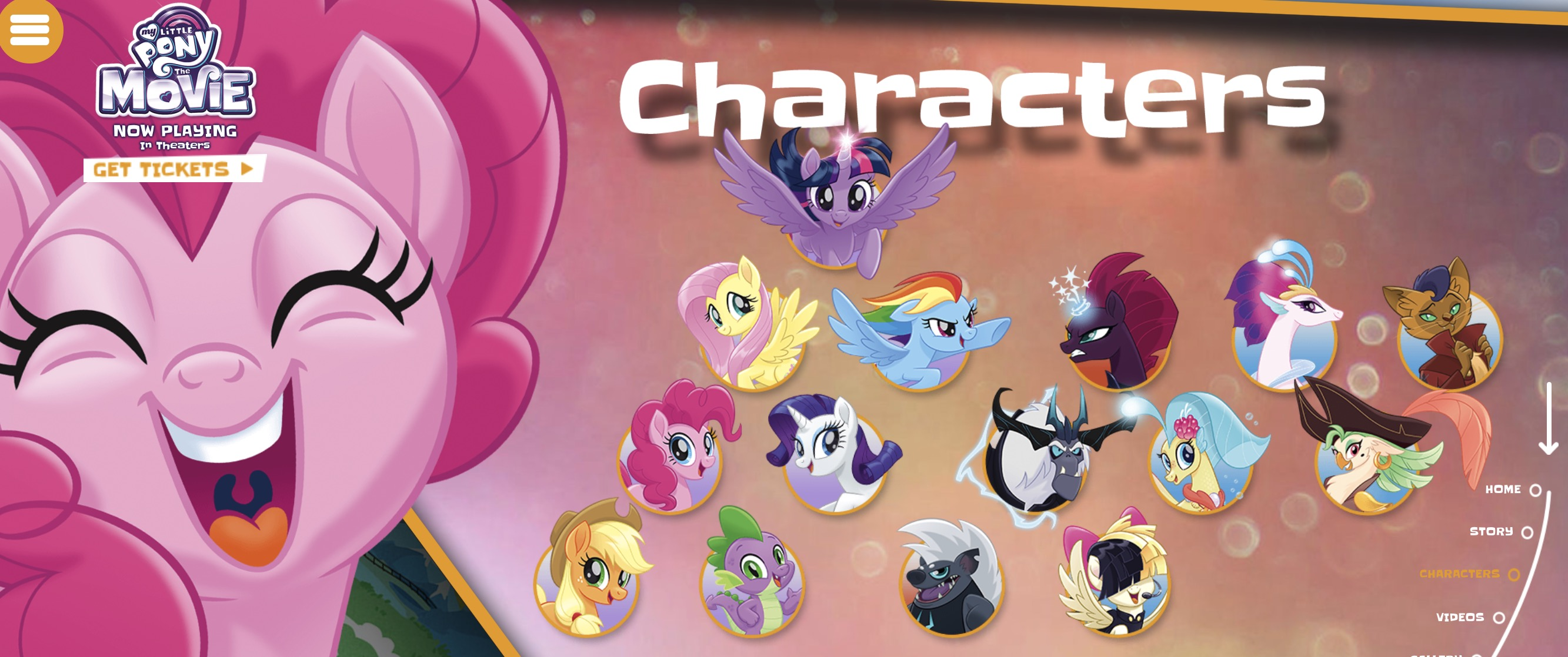 My Little Pony Movie Official Site & Pony Maker   MUSE Awards